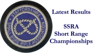 Latest Results for SSRA Short Range Championships banner.