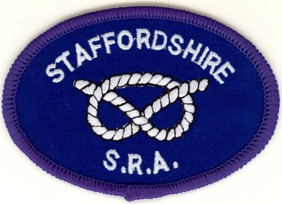Staffordshire Smallbore Rifle Association County Team Members Badge.
